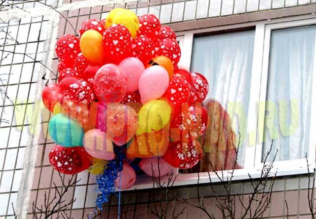 доставка шаров - необычный презент - оригинальный подарок