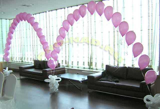 шарики воздушные арки