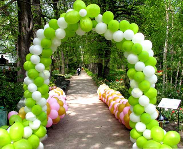 шарики воздушные арка