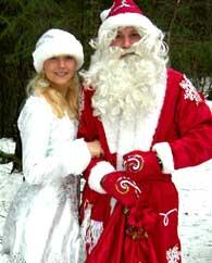 Дед Мороз на новогодние праздники